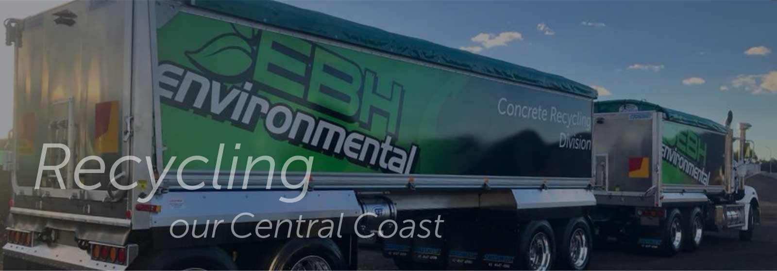 EBH Concrete Recycling Trucks